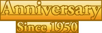 Anniversary Since 1950
